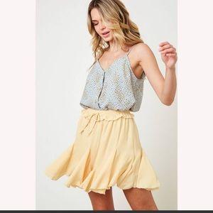 Saint & Hearts Tutu Pleated Mini Skirt (Skort)